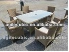outdoor furniture lounge sofa table chair for bbq pool patio
