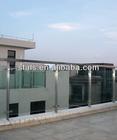 Glass railing / indoor glass stair railings / glass balcony railing
