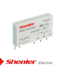 RNC 6A 6mm Omron type,Phoenix type,Finder type slim interface relay