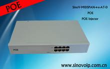 Compliant poe splitter 30W 802.3at gigabit network