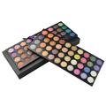 80 cores de maquiagem com a paleta paleta sombra