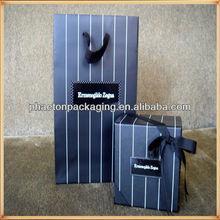 2014 fashion paper shopping bag High quality Packaging gift bag art paper tote bag