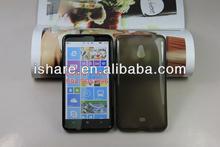 Clear TPU gel silicone case for Nokia Lumia1320 994 995 996 case