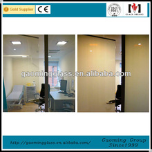 The reasonable clear-frosted smart glass prices for hostipal DS-LP584