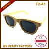 FX-41 2014 hotsale personalized gift bamboo glasses for beach, wayfarer eco friendly eyewear
