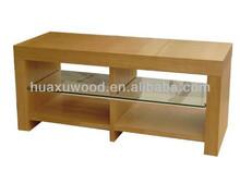 HX-MZ321 glass layer coffee table; glass shelf tea table