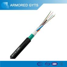 12 core câble de fiber optique pour telecom conmunication câble de travail