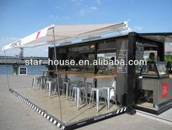 Modular Shipping Container Restaurant