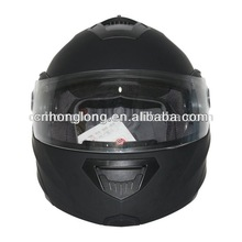 Matte black Mens Flip up chin bar helmet DP-998