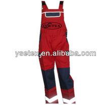 EN11612 fire retardant welding trouser for oil&gas industry
