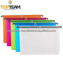 13 Pocket Hanging Expanding Folders, Plastic Hanging Expanding Files with Elastic Closure