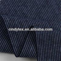 32*32 drapery soft yarn dyed plaid 100% cotton navy blue stripe fabric