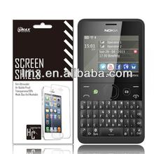 Screen protector for Nokia,screen protector for Nokia asha 210 oem/odm (Anti-Fingerprint)