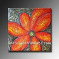 2014 moderno abstracto de flores pintura al óleo decorativa