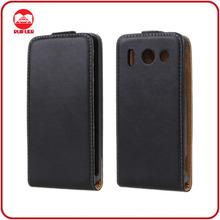 Manufacturer Wholesale Black Slim Fit Flip Leather Case for Huawei G510