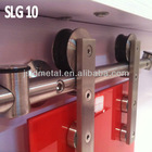 Plain stainless steel glass sliding door hardware