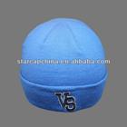 CUSTOM CHEAP EMBROIDERY LOGO FOLD UP BLUE WINTER HATS