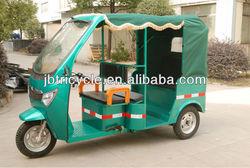 60V 1200-1500W electric tricycle passenger rickshaw three wheel motorcycle JBDCQ300K-03