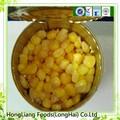 fresco maíz dulce en conserva
