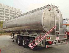 Aluminum Fuel Tank Semi Trailer/Aluminum Semi Trailer/Aluminum Oil tank