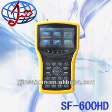 good quality digital sat tv satellite spectrum analyzer SF600HD