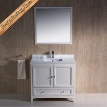 antique wash basin solid wooden bathroom cabinet