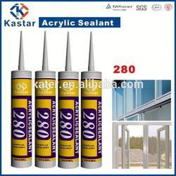 paintable waterproof for roof 100%flexible,acrylic sealant