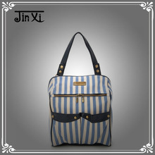 New Style Large Denim Shoulder Bag Fashionable Jean Multifunction Bag
