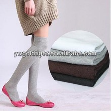 High Quality Christmas Party Fashion Charm Over Knee Thigh High Women Cotton Stockings