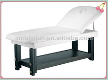 wood spa massage bed