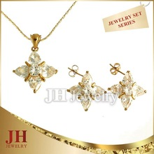 JH fashion Star Shaped Jewelry Set jewellery designs pictures