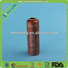 Empty refillable air aerosol spray can