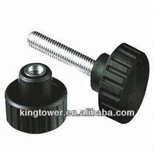 Plastic knurled thumb screw