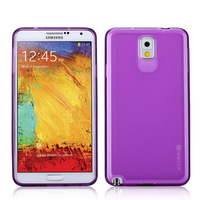 Glossy tpu plastic phone case for samsung galaxy note 3 back cover made in China