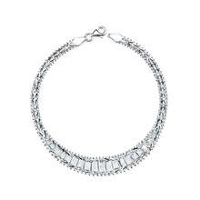 "925 Sterling Silver ""Bola"" Bracelet"