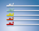 Disposable medical pvc suction catheter