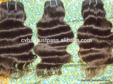 Gold supplier 6A 1B# 12-30'' 100% virgin indian remy hair