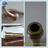 swaged hose fitting 90 degree metric female 74 degree cone seat fitting 20791