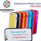Custom Printed Soft Silicon Case for iPhone 5S with Aluminum Insert