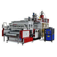 CF-500mm china brand hot sale high quality two layers food fresh film making Machine