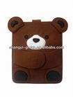 (FA-12)Cute Bear Felt Sleeve Tablets Bag Case for Pad Cover