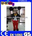 urides mickey mouse traje de la mascota