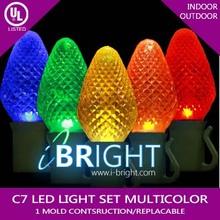 UL CE GS SAA christmas led string lights c6 multicolor