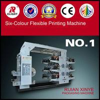 Six Colours flexo letter press,four colour printing machine