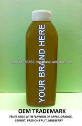 Vietnam High-Quality OEM Fruit Juice 600ml, 1000ml FMCG products