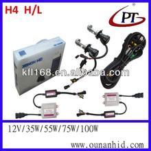 H4 H/L DC 12V 35w 55w car HID xenon light kit