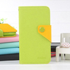 Factory price Colorful flip wallet leather cover case for Samsung galaxy S3 i9300