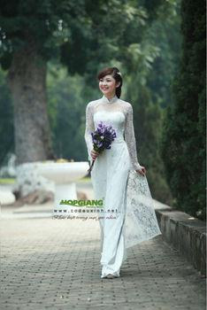 Alibaba wedding ao dai 2014 made in Viet Nam