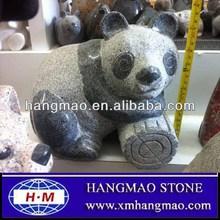 Panda Animal Stone Carvings