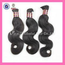 XBL 2014 Hot Sale 100% Virgin Remy Brazilian Hair Bulk